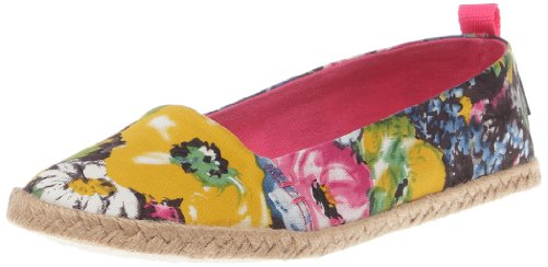 Rocket Dog Women's Cutie Black Brushed Floral Closed Toe CUTIEBF 5 UK
