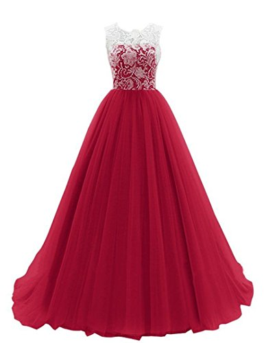 JY-Womens-Ruched-Sleeveless-Lace-Long-Evening-Dress-Prom-Gown