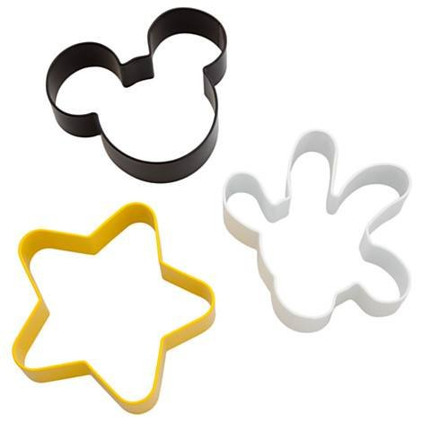 Disney Mickey Mouse Body Parts Cookie Cutters