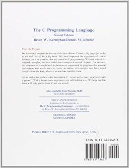 The C Programming LanguagePaperback– April 1, 1988