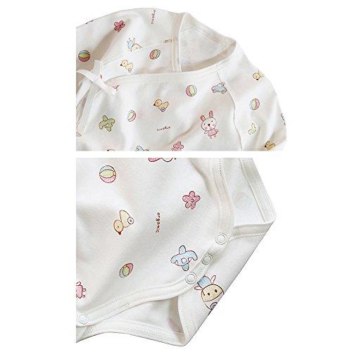 Organic Baby Clothes Kimono Bodysuit 4seasons Apparel