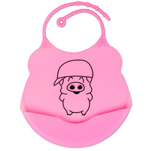Redcolourful-Soft Baby Bibs front-954715