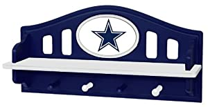 Fan Creations Dallas Cowboys Shelf with Pegs by Fan Creations