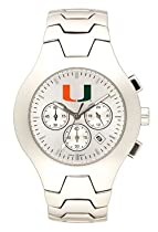 Miami Hurricanes Hall Of Fame Sterling Silver Watch