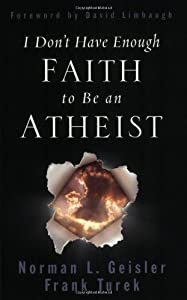 "Cover of ""I Don't Have Enough Faith to Be..."