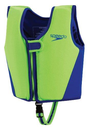 Speedo Kid'S Begin To Swim Classic Vest, Lime, Medium front-1005700
