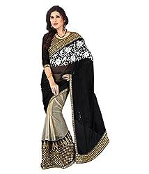 Pushkar Sarees Georgette Saree (Pushkar Sarees_31_Multi-Coloured)