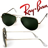 レイバン Ray-Ban サングラス ティアドロップ型 ライトゴールド×グレーグリーン メタルフレーム RB3025-L0205-58【国内正規品】