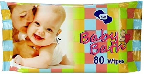 OM baby boys Multicolor Baby Bath Wipes