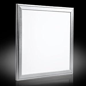 Auralum® 60x60cm 36W SMD blanco 2835 delgada ultradelgado LED Panel Downlight lámpara de techo por Temtop - BebeHogar.com