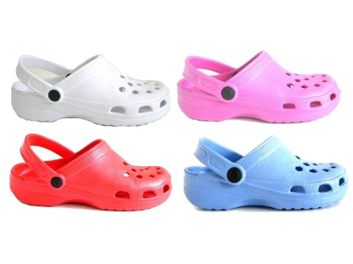 GENUINE GUMBIES SLIP ON BEACH CLOGS BOYS GIRLS MENS WOMENS SHOES SIZES 6-9
