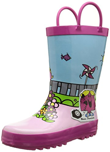 Be OnlyMme Bavarde - Stivali da pioggia a metà polpaccio Bambina , Multicolore (Multicolore (Multico)), 27