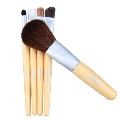 Ovonni超人気メイクブラシセット 化粧筆 やわらか化粧ブラシセット 高級化粧ブラシセット 5本セットになった豪華コスメアイテム 普通のメイクブラシとは違い肌触りギフト 誕生日 贈答品 就職祝い クリスマス ギフト