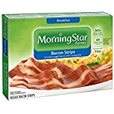 Kelloggs Morningstar Breakfast Veggie Bacon Strip, 5.25 Ounce -- 12 per case.