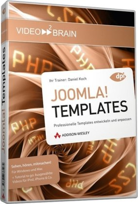 Video2Brain Joomla! Templates DVD