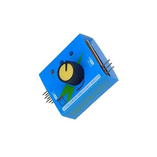3CH 4.8-6V Servo Tester CCPM Consistency Master Checker Blue