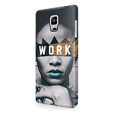 Rihanna Work Samsung Galaxy Note 4 Hard Plastic Phone Case Cover