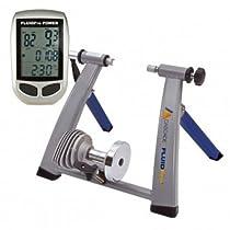 Fluid pro Dark Blue/Silver Cascade Power Bike Trainer