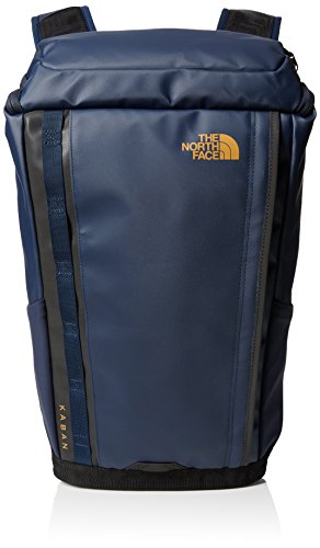The North Face-Zaino Base Camp Kaban, colore Blu (Cosmic Blue/Citrine Yellow), taglia unica
