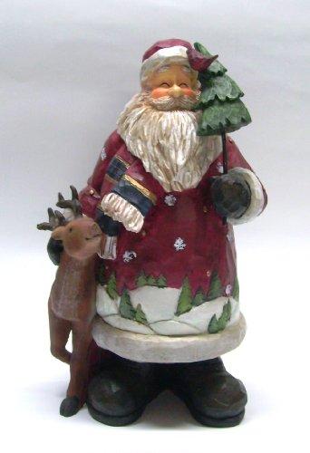 Weihnachtsmann Santa groß mit