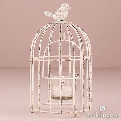 Small-Metal-Birdcage-with-Suspended-Tealight-Holder-White