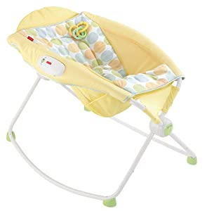 Fisher-Price Newborn Rock n' Play Sleeper, Yellow