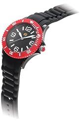 40Nine Unisex 40NINE03/BLACK/RED Medium 40mm Analog Display Japanese Quartz Black Watch
