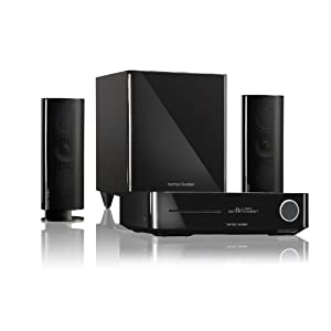 harman kardon bds 400 2 1 channel blu ray home theater. Black Bedroom Furniture Sets. Home Design Ideas