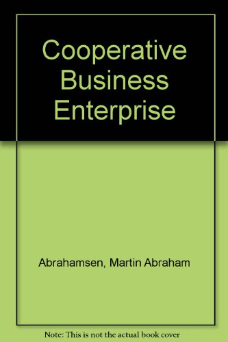 Cooperative Business Enterprise PDF