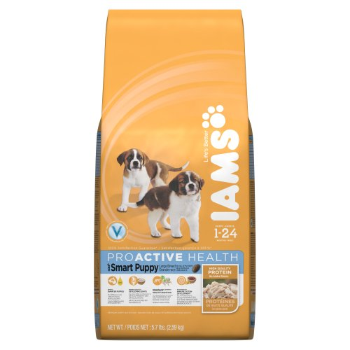 Iams Proactive Health Smart Puppy Large Breed Premium Puppy Nutrition, 5.7 Pound
