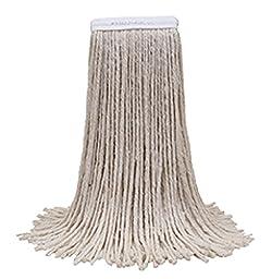 O\'Cedar Commercial 97611V-EWB Cotton Cut-End Mop, #16 (Pack of 12)