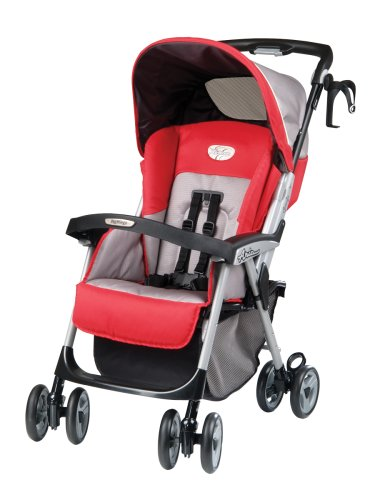 Baby's Store |   Peg Perego Aria Light Weight One Hand Fold Stroller in Tango :  hand stroller weight fold