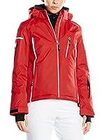 HYRA Chaqueta de Esquí Trafoi Lady (Rojo / Blanco)