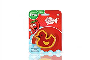 Pink Guppy Pink Guppy Kids Strawberry fragrant, Cute Duck Shaped Bathing Bar for Kids