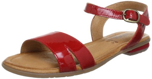 Gabor girls Flora Sandals Girls Red Rot (red) Size: 38/5 UK