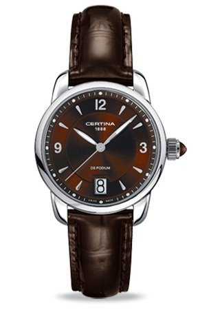 Certina Ladies'Watch XS Analogue Quartz C025,210,16,297,00 Leather