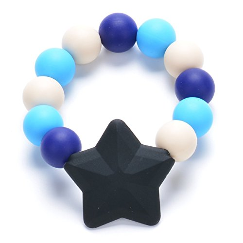 Consider It Maid Baby/Toddler Silicone Teething Bracelet - Star Bracelet Collection - 1
