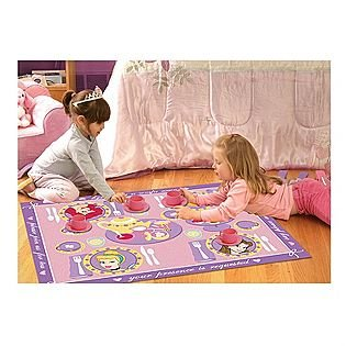 Disney Princess Game Rug Tea Service for 2 - 1