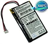 Battery for Typhoon MyGuide 3100 BT553759 3.7V 1100mAh