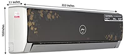 Godrej GSC 12 FG 8 MOG  Split AC (1 Ton, 5 Star Rating, Maple)