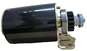 Electric Starter Motor Assembly Fits Briggs & Stratton 497595, 394805, 693054, 490420, 494990, 497401, 691262, 499521, B&S 254422, 254427, 286707, 28A707, 28B702, 28B707,28M707, 28N707, 28Q777, Magnum 33-770, Mega-Fire 435-307