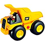 Toy State Caterpillar Construction Big Movin' Rumbler Dump Truck With Figure