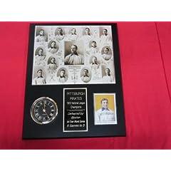 J&C Baseball Clubhouse JC000884 1903 Pittsburgh Pirates Collectors Clock Plaque... by J & C Baseball Clubhouse