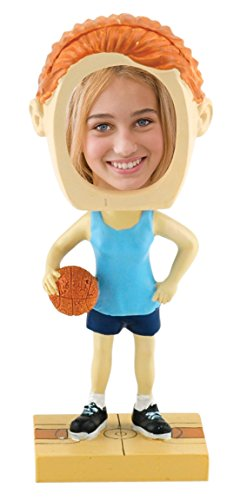 Female Basketball Photo Bobble Head