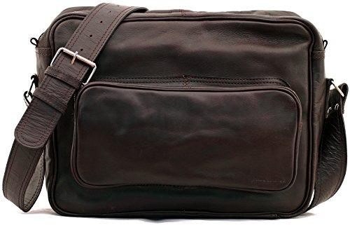 Retro Colore INDUS (M) borsa pelle vintage, la borsa a spalla, borsa a tracolla, PAUL MARIUS, Vintage & Retro
