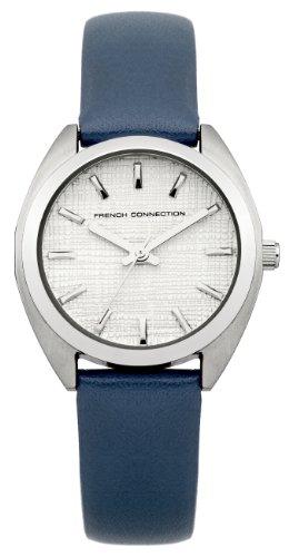 FRENCH CONNECTION FC1200U - Reloj de pulsera mujer, piel, color azul