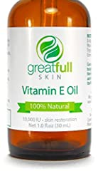 Everyone knows that Vitamin E does wonders for the skin, even your doctor will recommend it! Scientific studies show that Vitamin E Oil is more effective than anything else while having many benefits:-It heals and protects your hair, skin, and nails...