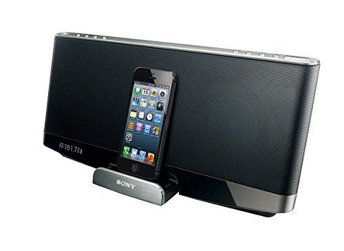 Sony Rdpxf300Ipn Lightning Ipad/Iphone/Ipod Portable Bluetooth Wireless Speaker Dock (Black)