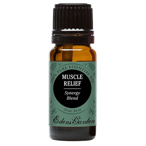 Muscle Relief Synergy Blend Essential Oil by Edens Garden- 10 ml (Clove, Helichrysum, Peppermint and Wintergreen) (Comparable to Young Living's PanAway blend) (Heated Scented Oil compare prices)