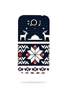 alDivo Premium Quality Printed Mobile Back Cover For HTC G21 / HTC G21 Back Case Cover (MZ108)